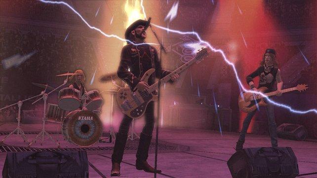 Neben Metallica sind Songs der Metallica-Favoriten dabei, unter anderem Motorhead.