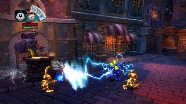 Löst spannende Rätsel im kooperativen Spiel von Micky Epic - Die Macht der 2