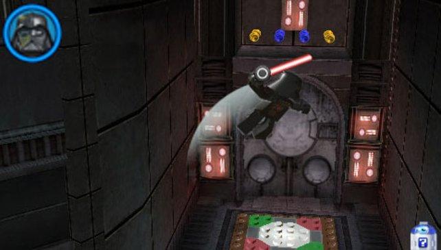 Sogar Darth Vader dürft ihr spielen.