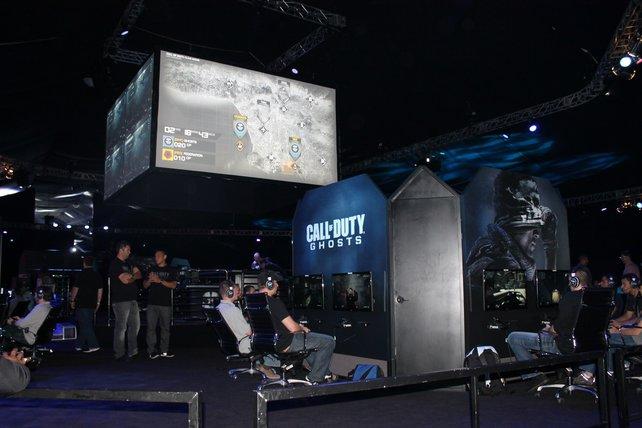 Anspielen mit Stil: Gut 100 Xbox-360-Stationen stehen bereit.