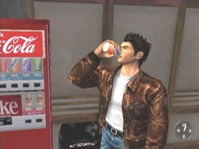 Durst hat man auch in Shenmue