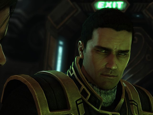 Matt Horner, Raynors erster Offizier, fliegt die Hyperion.