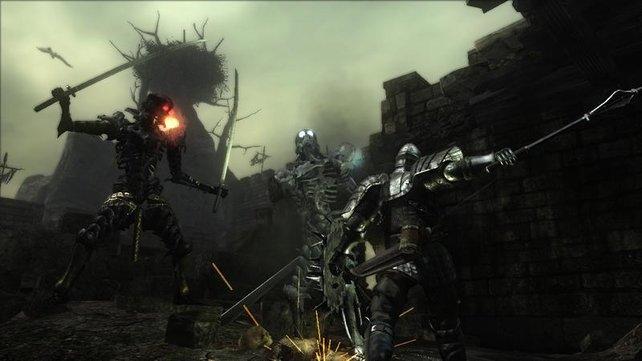 Skelettkrieger sind enorm gefährlich, bringen aber viele Seelen.