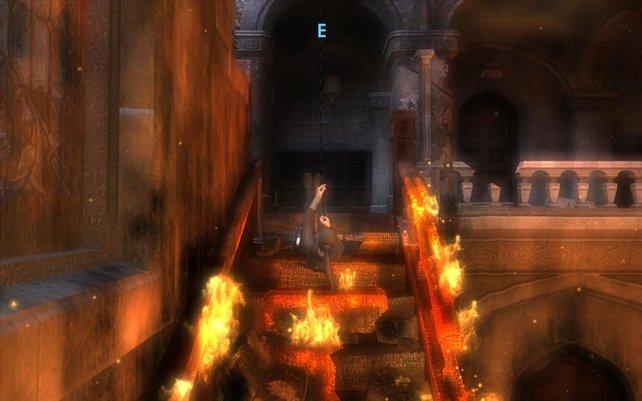 Das Tutorial spielt im brennenden Croft Manor.