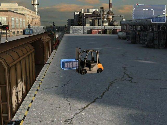 Gabelstapler Simulator - das non plus ultra der Langeweile.