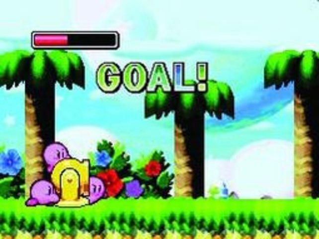 Auch nicht herausfordernd, aber lustig: Kirby als Kanonenkugel