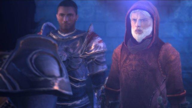 Rechts seht ihr Odo, der die zehnte Legion aufbaut.