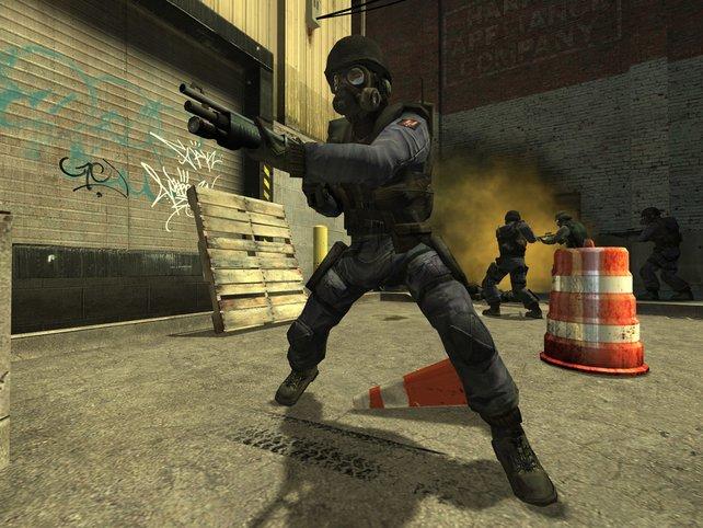 Counter-Strike: Rambo oder Schisser - hier trennen sich Spreu und Weizen, Kimme und Korn.
