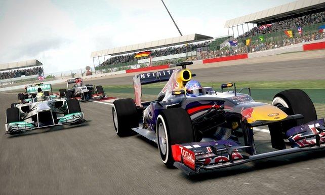 Tretet gegen die Größen der Formel 1 in F1 2013 an.