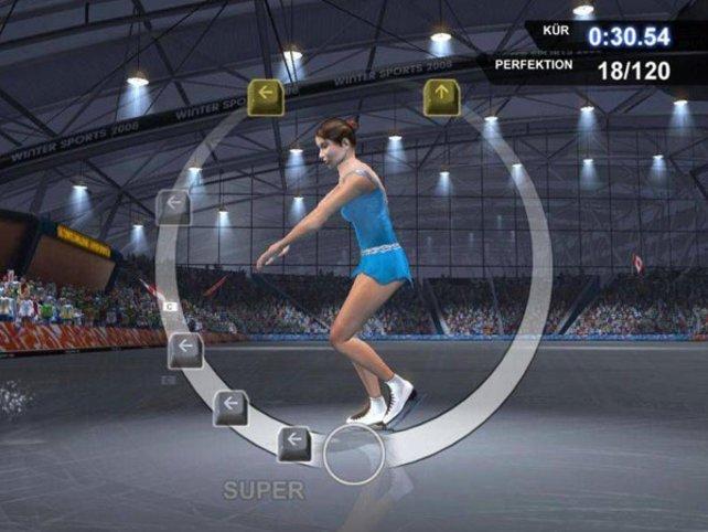 Eiskunstlauf - eine der neuen Sportarten