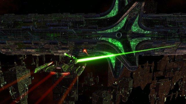 Star Trek Online ist genau wie SWTOR im Sci-Fi-Universum angesiedelt.