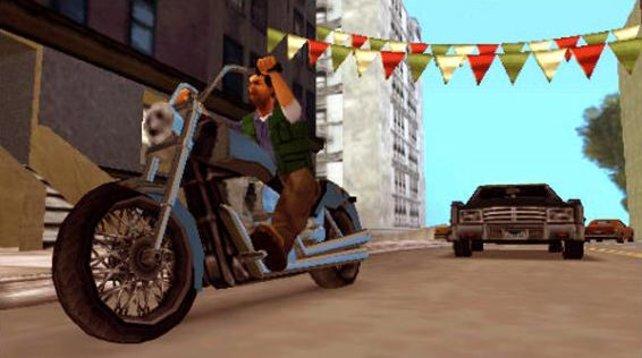 Motorräder sind neu in Liberty City