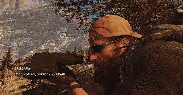 Die Elitesoldaten sind optisch leicht verändert gegenüber gewöhnlichen Rangern.
