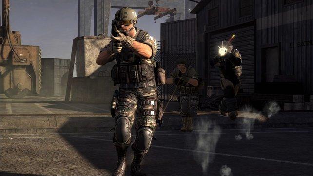 Im Mehrspieler-Modus treten bis zu 32 Spieler gegeneinander an.