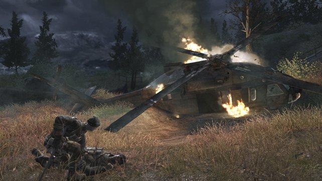 Dank eindringlicher Szenen und moderner Kriegsschauplätze erringt Call of Duty - Modern Warfare Kultstatus.
