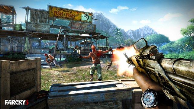 Far Cry 3 zählt dank großer Spieltiefe zu den Spielehits von 2012.