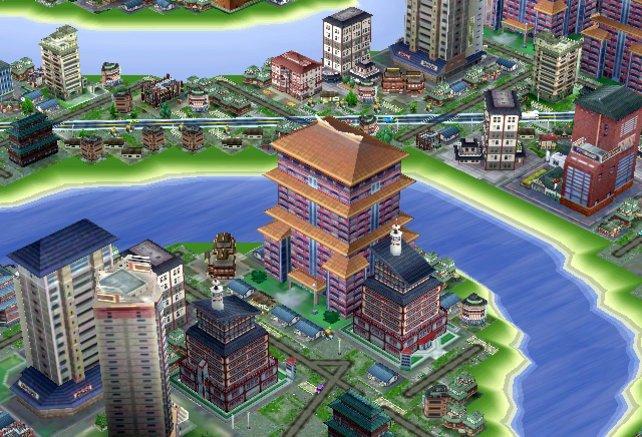 Nintendo-typisch sind alle Städte sehr bunt