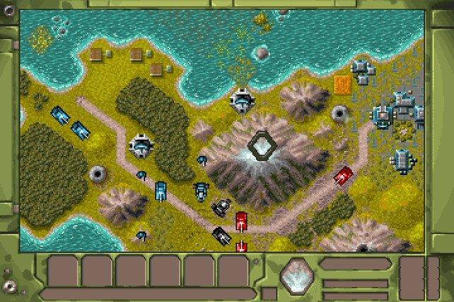 Battle Isle 2: gemütlich-spannendes Panzerschubsen.