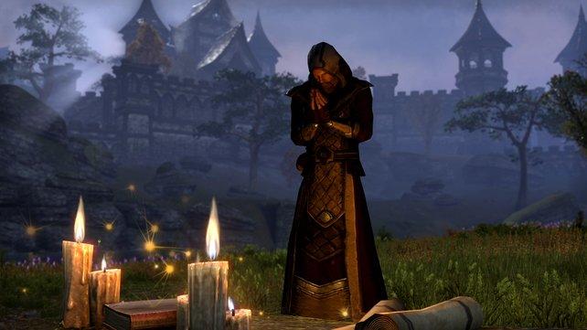 Zauberkundige Spieler treten der Magiergilde bei.