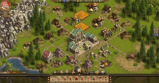 Das kostenlose Browserspiel versprüht altbekannten Siedler-Charme.
