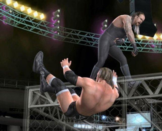 Schönen Flug wünscht Ihnen Undertaker!
