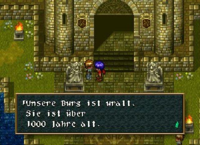Ja, so sahen Rollenspiele vor Final Fantasy VII aus.