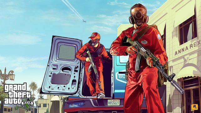 GTA 5 ist das größte Spiel, das Rockstar bisher entwickelt hat.