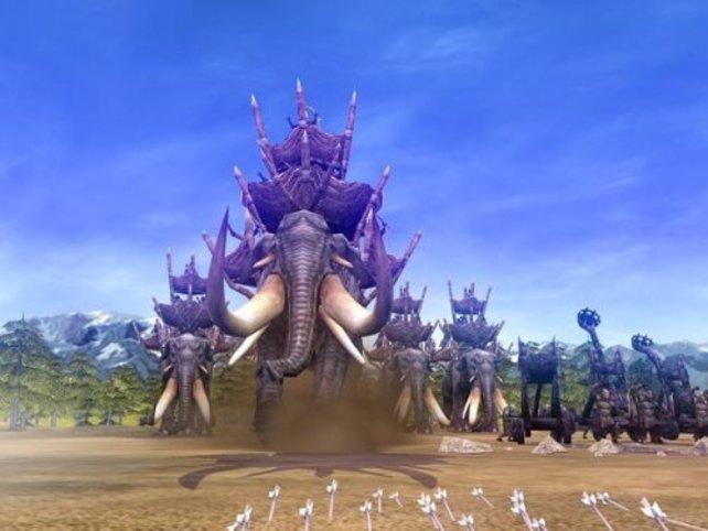 Eine der stärksten Einheiten, die Onifanten