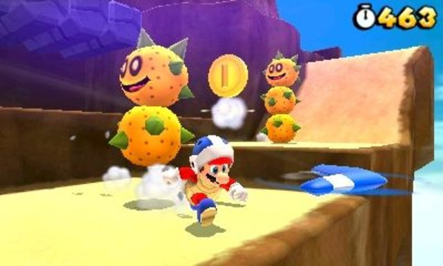 Super Mario 3D Land steht frisch in den Regalen. Spielt ihr es schon? Wie findet ihr es?