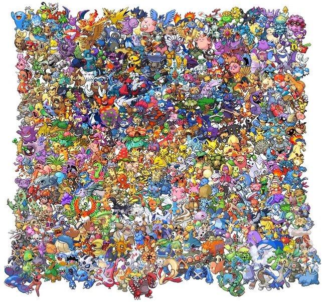 649 Pokémon warten darauf, gefangen zu werden.