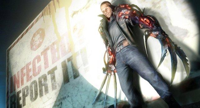 Hauptcharakter Heller kann in Sekundenschnelle Klauen wachsen lassen.