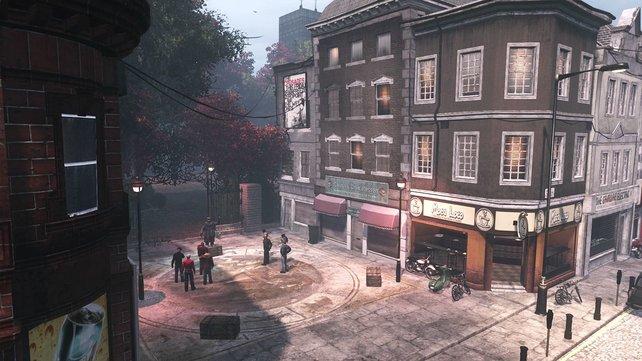 In London befindet sich das Hauptquartier der Templer.