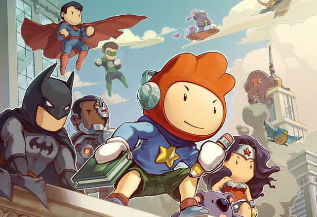Scribblenauts Unmasked bringt die Helden der DC-Comics ins Spiel.
