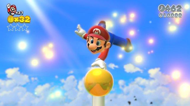 Die Entscheidung für Super Mario 3D World sorgte zunächst für Erstaunen.