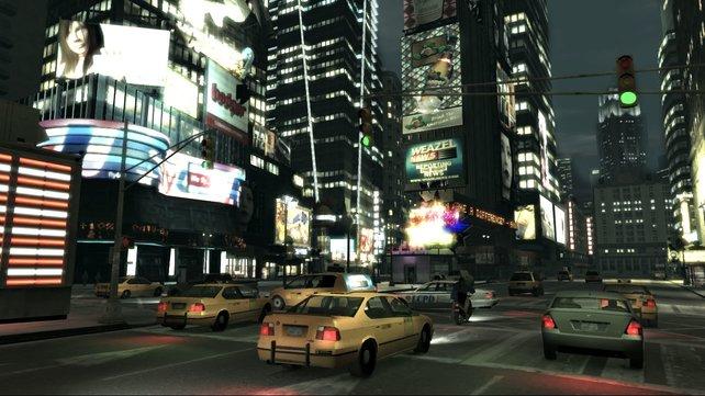 Die Glitzerwelt der Metropole kommt in der Nacht am besten zur Geltung.