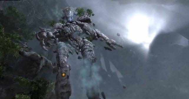 Diese mächtigen Titanen erledigt ihr nur häppchenweise.