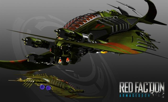 In Red Faction Armageddon fließen auch noch Elemente eines nie veröffentlichten, vierten Descent-Raumschiffspiels.