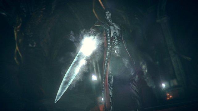 Dracula zieht mit mächtigen Waffen in die Schlacht.