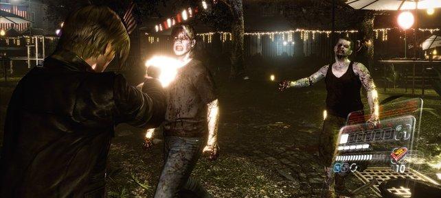Die Spielabschnitte mit Leon bieten noch am meisten Atmosphäre.