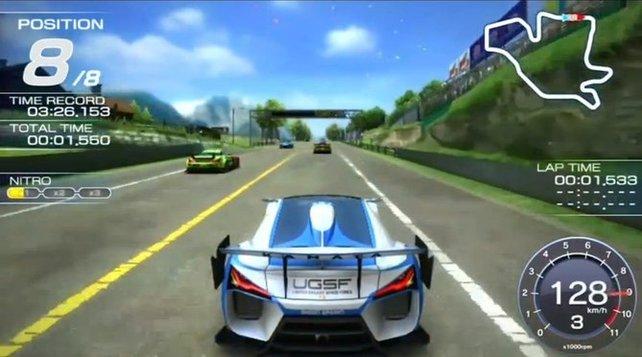 Auf der Vita bleibt Ridge Racer seinen Wurzeln treu.