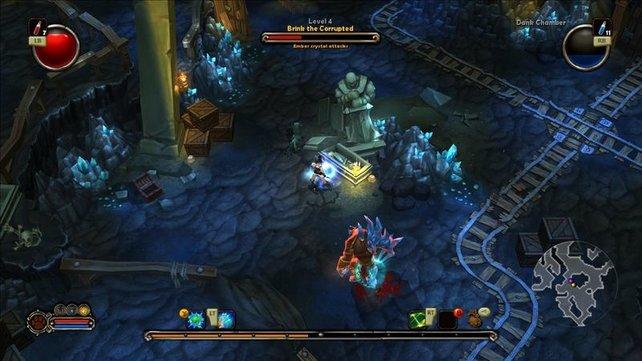 Torchlight zeigt, dass es auch im Westen bunte Fantasy-Welten gibt.