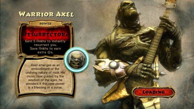 Axel Steel sieht nach seiner Transformation nicht sehr frisch aus.