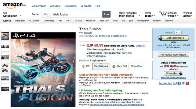 70 Euro für Trials Fusion? Keine Sorge, der Preis ist eine Ente.