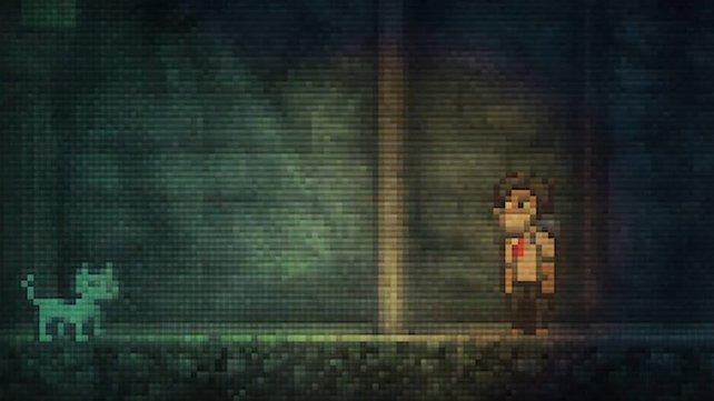 Lone Survivor ist ebenso stimmungsvoll wie pixelig.