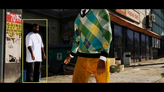 Ist dieser junge Herr im weißen T-Shirt der aus San Andreas bekannte Madd Dogg?