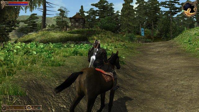 Die Steuerung der Pferde ist derzeit noch sehr ungenau.