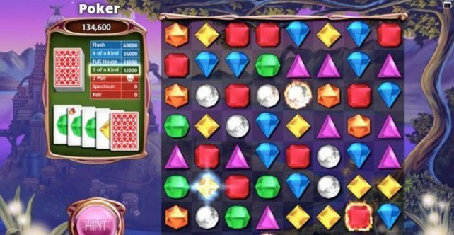 Dank massig Spielmodi unterhält das neue Bejeweled.