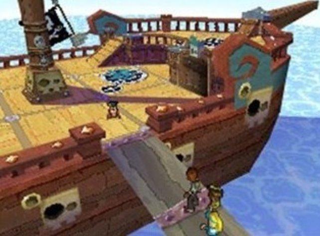 An Bord des Schiffes warten neuen Feinde.