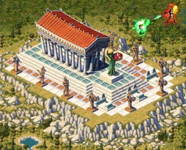 Der Tempel von Demeter - Göttin der Ernte