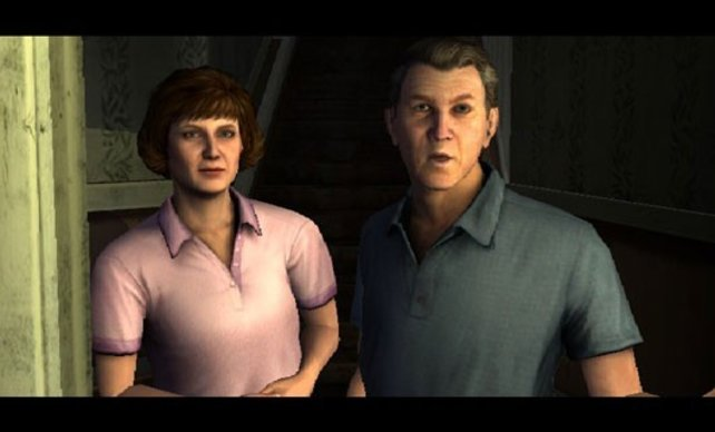 Die Wii ist besser als die PS2? Da staunen selbst die Charaktere nicht schlecht.